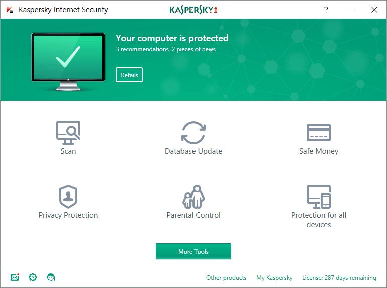 KIS 2017 – Kaspersky Internet Security 2017